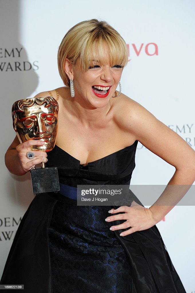 <a gi-track='captionPersonalityLinkClicked' href=/galleries/search?phrase=Sheridan+Smith&family=editorial&specificpeople=4159304 ng-click='$event.stopPropagation()'>Sheridan Smith</a> poses with her BEst Actress Award in front of the winners boards at the BAFTA TV Awards 2013 at The Royal Festival Hall on May 12, 2013 in London, England.