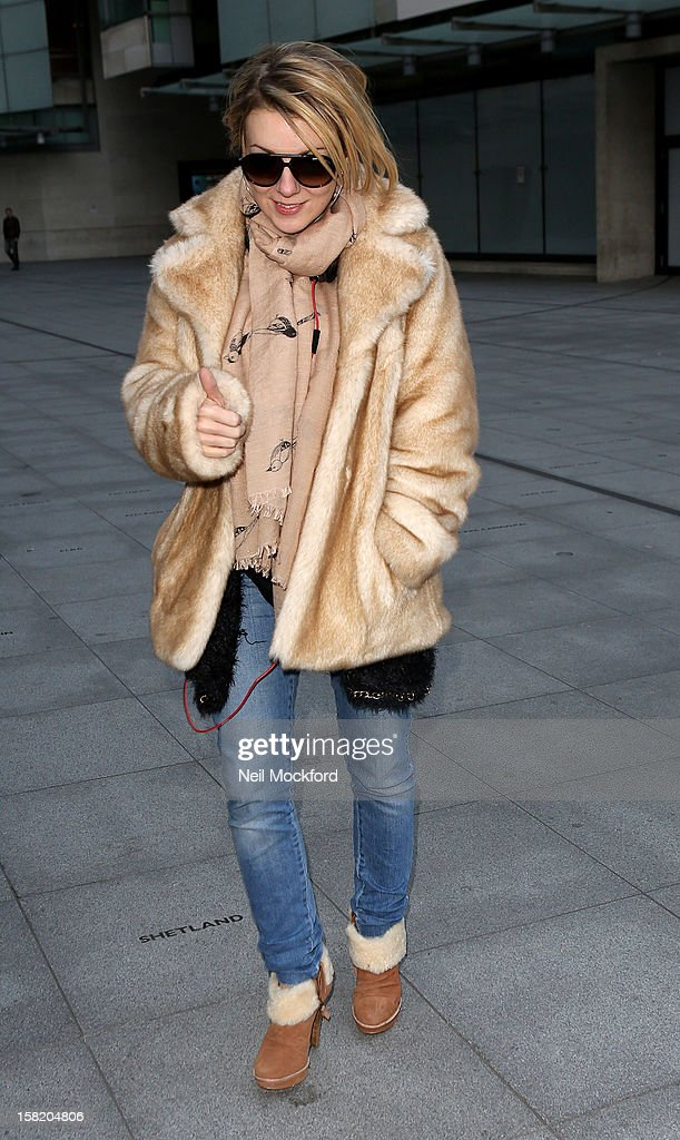 Sheridan Smith seen at BBC Radio One on December 11, 2012 in London, England.