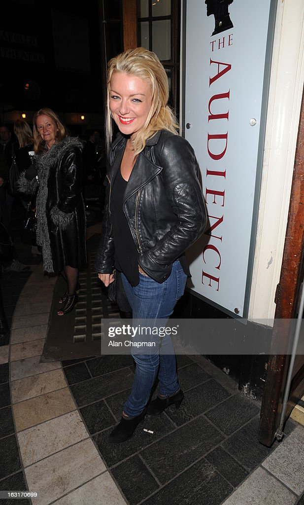 Sheridan Smith sighting at the press night of The Audience on March 5, 2013 in London, England.