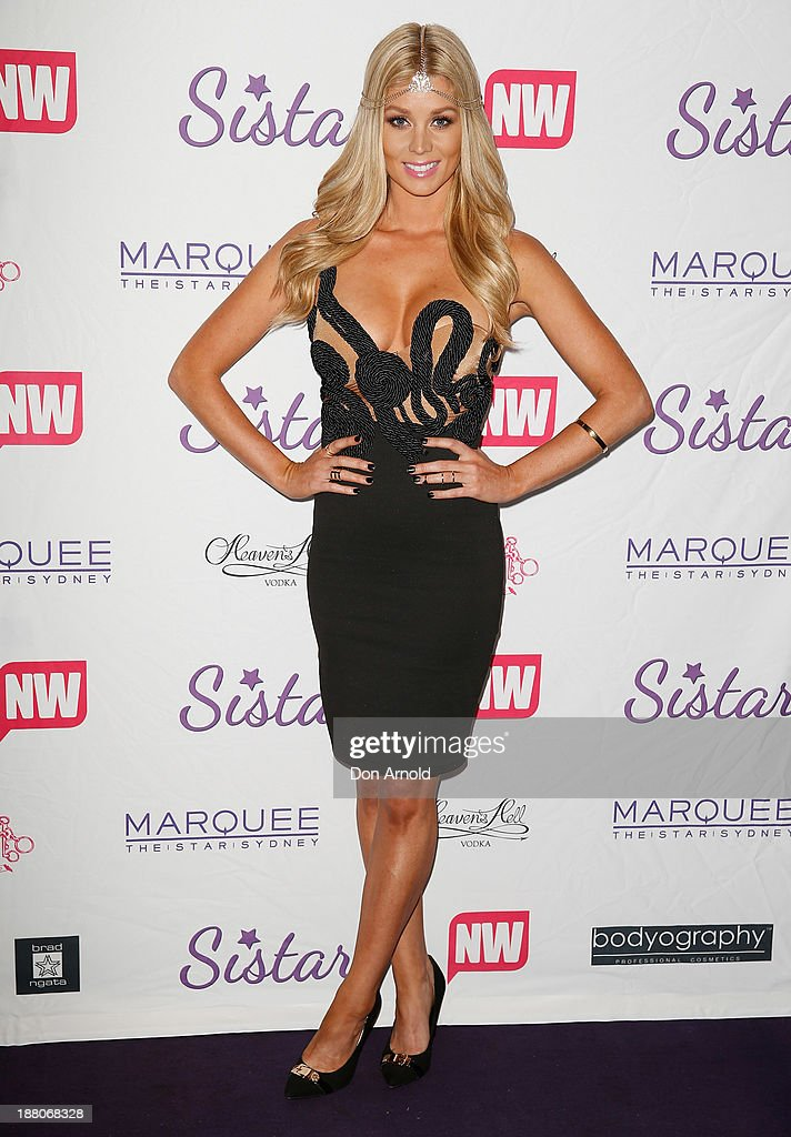 Sheridyn Fisher appears at Marquee Nightclub on November 15, 2013 in Sydney, Australia.
