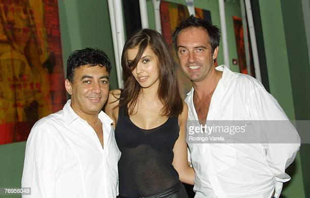Sheriff Ishak Adriana Mucinska from Fashion TV and Antoine Verglas