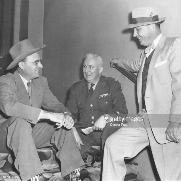 APR 10 1953 4111953 1 Sheriff Robert Fulton of Rio Blanco County 2 Col Le Roy H Barnard US Force officer of Special Investigation 14th District 3...