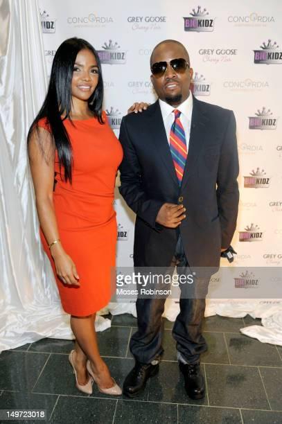 Sherlita Patton and husband Recording artist Big Boi aka Antwan Patton attend the 2012 Champion of the Arts event at the Metro Atlanta Chamber...