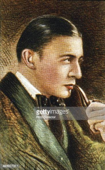 Sherlock Holmes fictional detective Holmes the detective created by Arthur Conan Doyle in the 1890s as portrayed by the early English film star Clive...