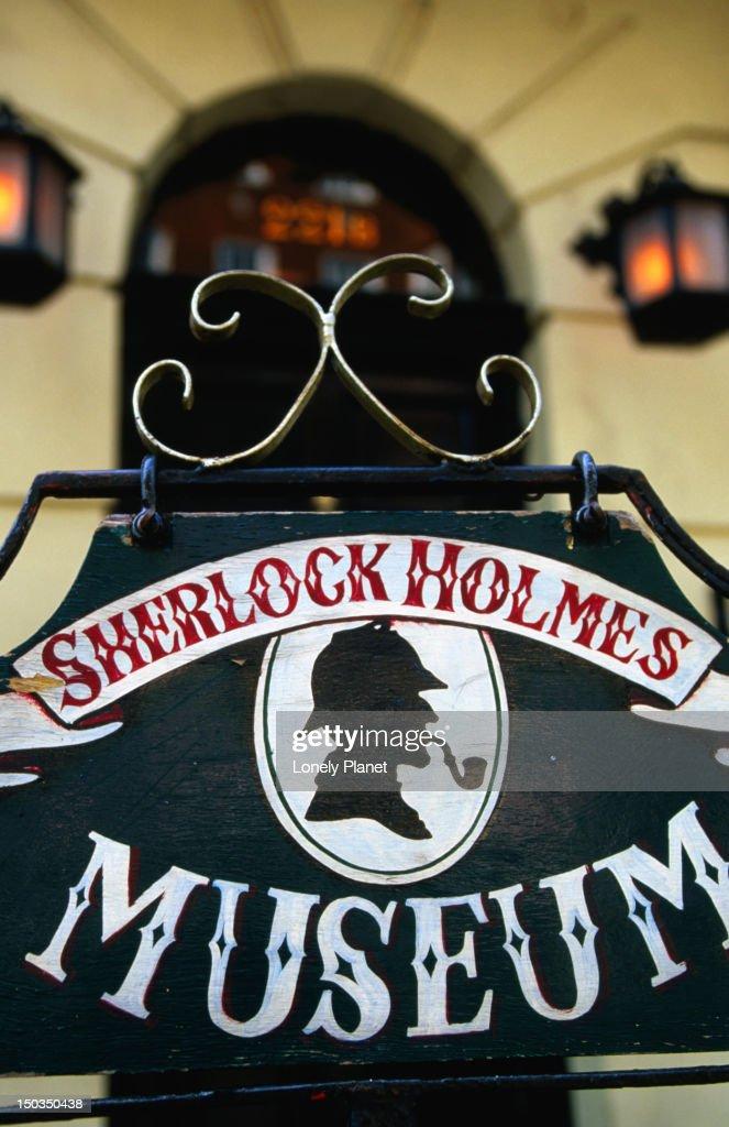 Sherlock Holmes Museum, Baker Street. : Stock Photo