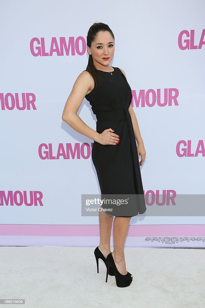 Sherlyn González attends the Glamour Magazine México Beauty Awards 2013 at Museo Rufino Tamayo on February 13, 2014 in Mexico City, Mexico.