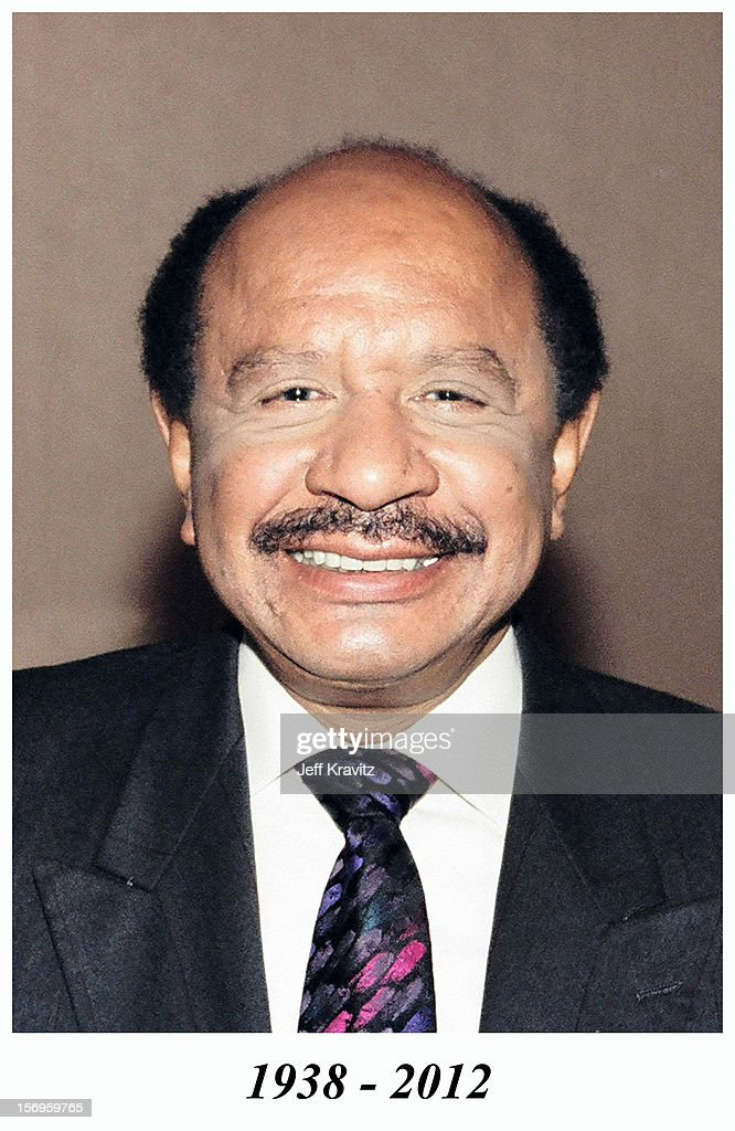 Sherman Hemsley during 1998 TV Land Upfront at Beverly Hills Hotel on May 18, 1998 in Los Angeles, California, United States. Sherman Hemsley died in 2012.