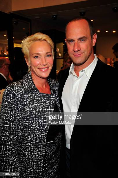 Sherman Meloni and Chris Meloni attend Tamsen Z Store Opening Event at Tamsen Z Boutique NYC on September 21 2010 in New York City