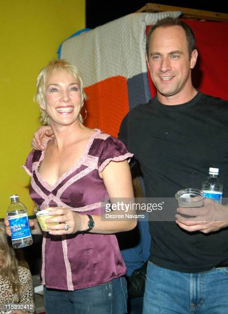 Sherman Williams and Chris Meloni during 2005 Big Apple Circus Opening Night Gala Benefit at Damrosch Park Lincoln Center in New York City New York...