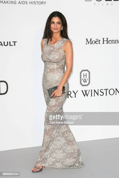Shermine Shahrivar arrives at the amfAR Gala Cannes 2017 at Hotel du CapEdenRoc on May 25 2017 in Cap d'Antibes France