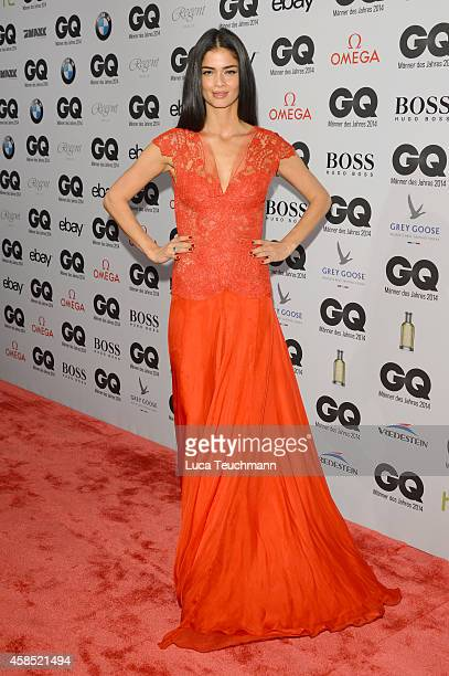Shermine Shahrivar arrives at the GQ Men of the Year Award 2014 at Komische Oper on November 6 2014 in Berlin Germany