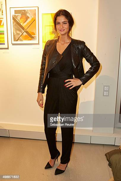 Shermine Shahrivar attends the Absolut Art Apartment opening night on November 26 2015 in Berlin Germany