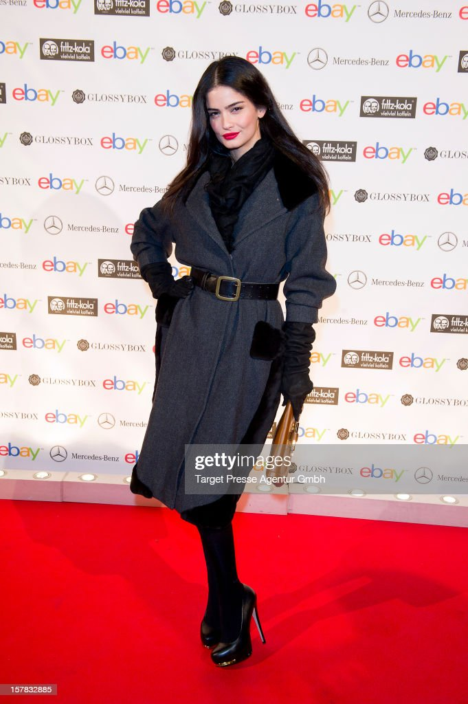 Shermine Shahrivar attends the Ebay Pop-Up Store opening at Oranienburger Strasse on December 6, 2012 in Berlin, Germany.