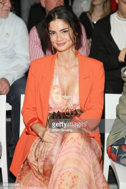 Shermine Shahrivar attends the Sportalm Fashion Show Spring/Summer 2018 at Umspannwerk Kreuzberg on July 5 2017 in Berlin Germany