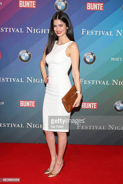 Shermine Sharivar attends the Bunte BMW Festival Night 2015 on February 06 2015 in Berlin Germany