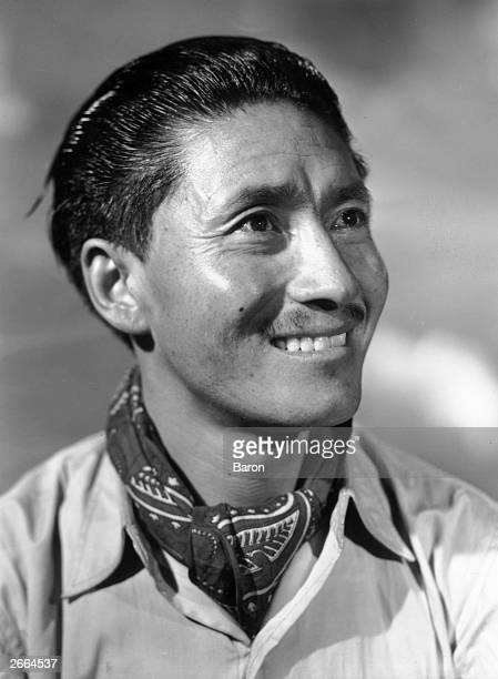 Sherpa Tensing Norkay who was along with Edmund Hillary the first man to climb Mount Everest the world's highest mountain in 1953