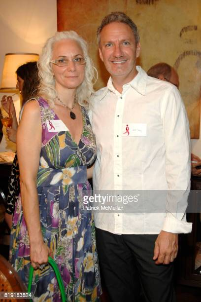 Sherri Cohen and Jeff Shaw attend Cocktails to Kickoff HOLIDAY HOUSE 2010 at 535 West End Avenue at 86th on July 14 2010 in New York City