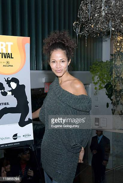 Sherri Saum during 12th Annual Gen Art Film Festival Launch Party at té casan in New York City New York United States