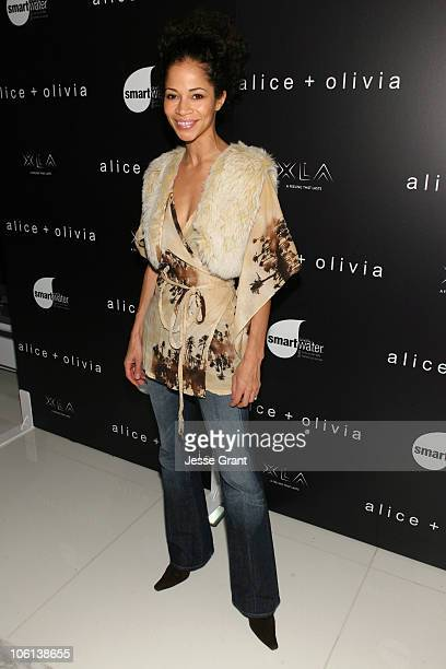 Sherri Saum during MercedesBenz Fashion Week Fall 2007 Alice Olivia Arrivals at Atelier Building at 635 West 42nd Street in New York City New York...