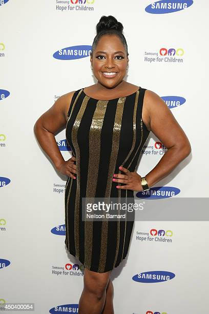 Sherri Shepard attends the Samsung Hope For Children Gala 2014 on June 10 2014 in New York City