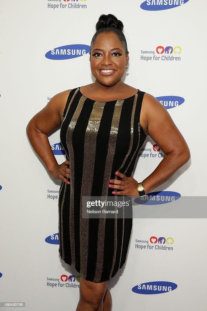 Sherri Shepard attends the Samsung Hope For Children Gala 2014 on June 10, 2014 in New York City.