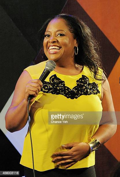 Sherri Sheperd performs on NYTough Comedy Showcase at Caroline's On Broadway on September 23 2014 in New York City