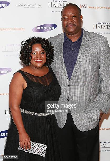 Sherri Shepherd and Lamar Sally attend A Tribute To Sherri Shepherd at Clyde Frazier's Wine and Dine on September 12 2013 in New York City