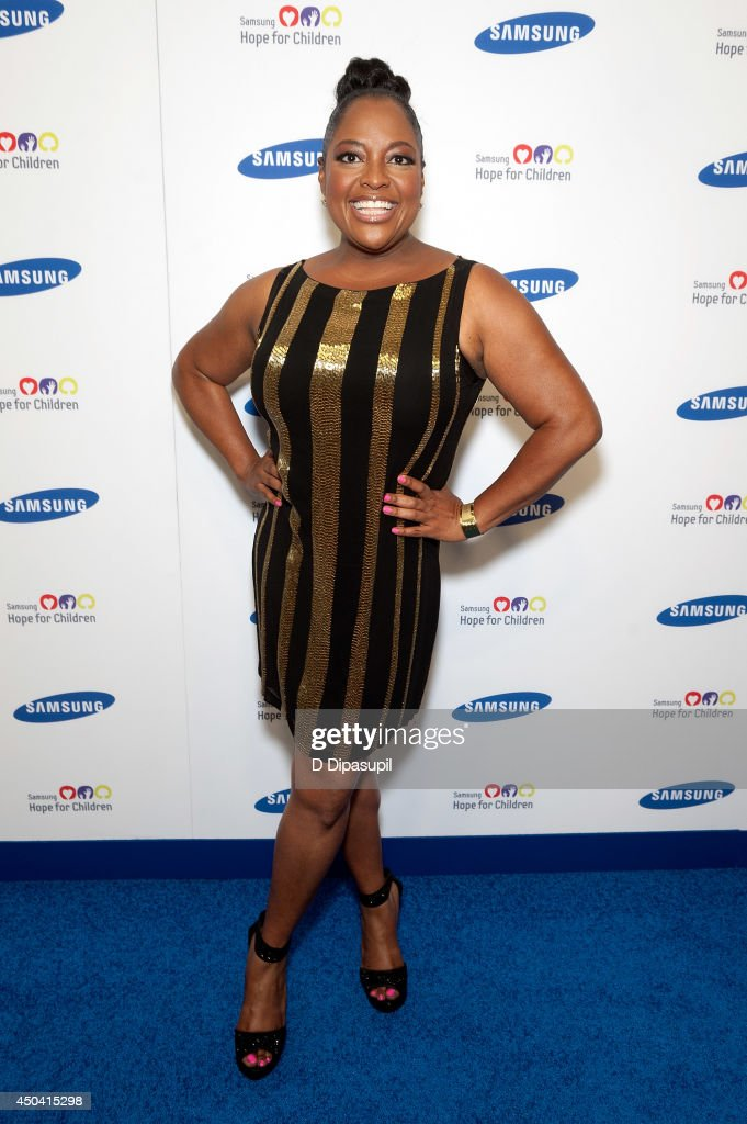 <a gi-track='captionPersonalityLinkClicked' href=/galleries/search?phrase=Sherri+Shepherd&family=editorial&specificpeople=693379 ng-click='$event.stopPropagation()'>Sherri Shepherd</a> attends the 13th Annual Samsung Hope For Children Gala at Cipriani Wall Street on June 10, 2014 in New York City.