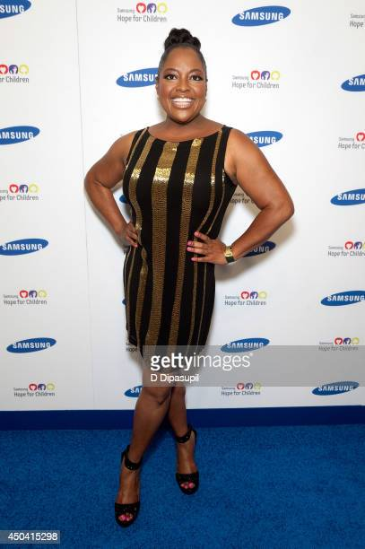 Sherri Shepherd attends the 13th Annual Samsung Hope For Children Gala at Cipriani Wall Street on June 10 2014 in New York City