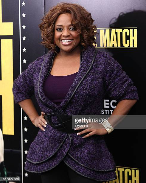 Sherri Shepherd attends the 'Grudge Match' screening benefiting the Tribeca Film Insititute at Ziegfeld Theater on December 16 2013 in New York City
