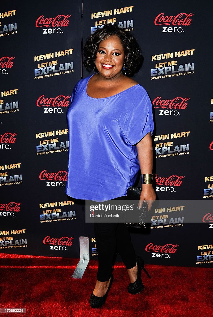Sherri Shepherd attends the 'Kevin Hart:Let Me Explain' New York Premiere at Regal Cinemas Union Square on June 19, 2013 in New York City.
