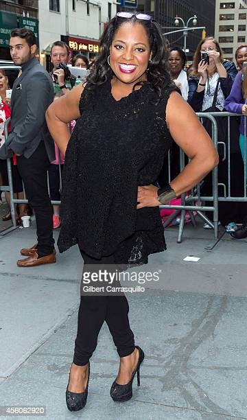 Sherri Shepherd is seen on September 24 2014 in New York City