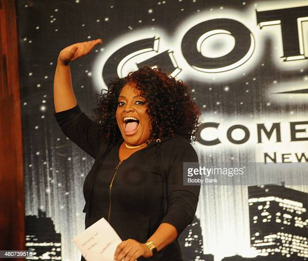 Sherri Shepherd performs at Gotham Comedy Club on December 20 2014 in New York City