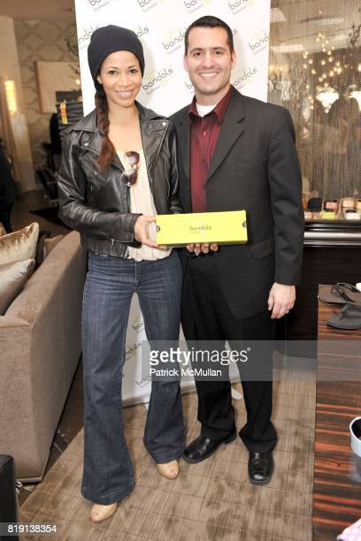Sherri Shum and Kristen Campbell attend Silver Spoon Presents Oscar Weekend Red Cross Event For Haiti Relief at Interior Illusions on March 3 2010 in...
