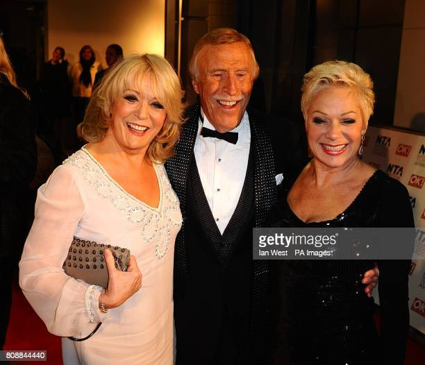 Sherrie Hewson Bruce Forsyth and Denise Welch arriving for the 2011 National Television Awards at the O2 Arena London