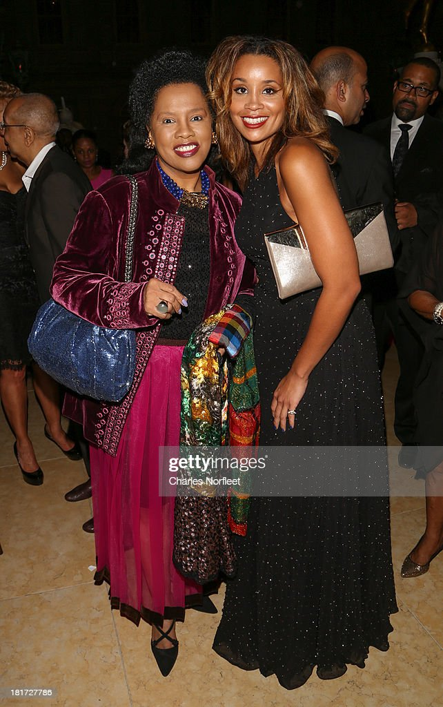 Sherry Bronfman (L) and Jillian Hervey attend 2013 Multicultural Gala: An Evening Of Many Cultures at Metropolitan Museum of Art on September 23, 2013 in New York City.