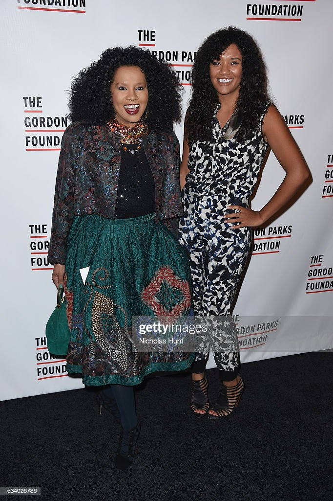 Sherry Bronfman and Vanessa Bronfman attend the 2016 Gordon Parks Foundation awards dinner at Cipriani 42nd Street on May 24, 2016 in New York City.