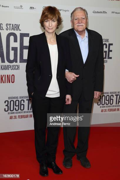 Sherry Hormann	and Michael Ballhaus attend the '3096 Tage' Berlin Premiere at CineStar on February 27 2013 in Berlin Germany