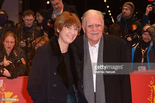 Sherry Hormann and Michael Ballhaus attend the closing ceremony of the 66th Berlinale International Film Festival on February 20 2016 in Berlin...