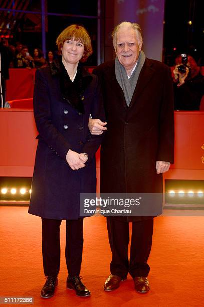 Sherry Hormann and Michael Ballhaus attend the 'Hommage For Michael Ballhaus' during the 66th Berlinale International Film Festival Berlin at...