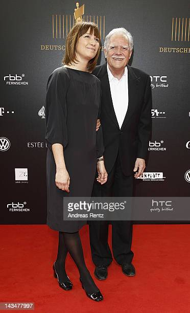 Sherry Hormann and Michael Ballhaus attend the Lola German Film Award 2012 at FriedrichstadtPalast on April 27 2012 in Berlin Germany