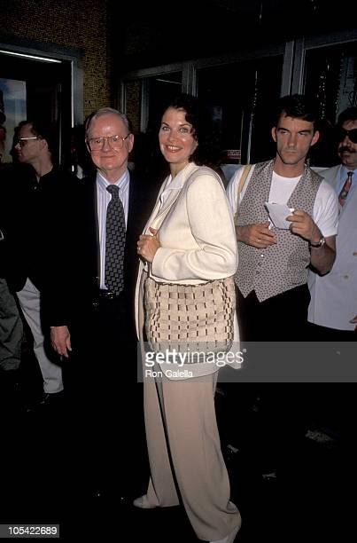 Sherry Lansing and Daniel Petrie during 'Lassie' New York City Premiere at Festival Theater in New York City New York United States