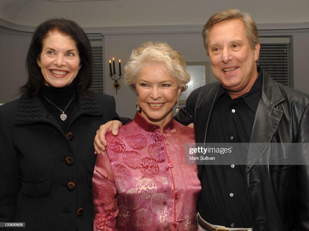 Sherry Lansing, Ellen Burstyn and William Friedkin
