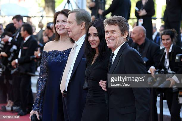 Sherry Lansing William Friedkin Giada Colagrande and Willem Dafoe attend the 'Graduation ' Premiere during the 69th annual Cannes Film Festival at...