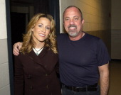 Sheryl Crow and Billy Joel during 'Music to My Ears' Tribute to the Legendary Music Journalist Timothy White Boston Backstage at Fleet Center in...
