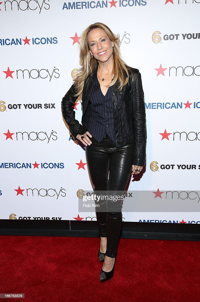 Sheryl Crow attends Macy's launches 'American Icons' at Gotham Hall on May 14, 2013 in New York City.