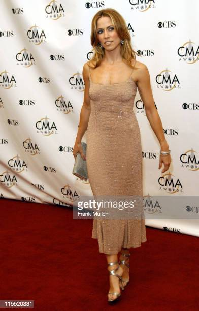 Sheryl Crow during 37th Annual CMA Awards Arrivals at The Grand Ole Opry in Nashville TN United States
