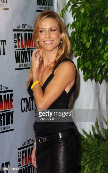 Sheryl Crow during CMT 2004 Flame Worthy Video Music Awards Arrivals at Gaylord Entertainment Center in Nashville Tennessee United States