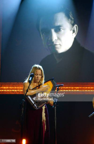 Sheryl Crow during 'I Walk the Line A Night for Johnny Cash' Day 1 at Pantages Theatre in Los Angeles California United States