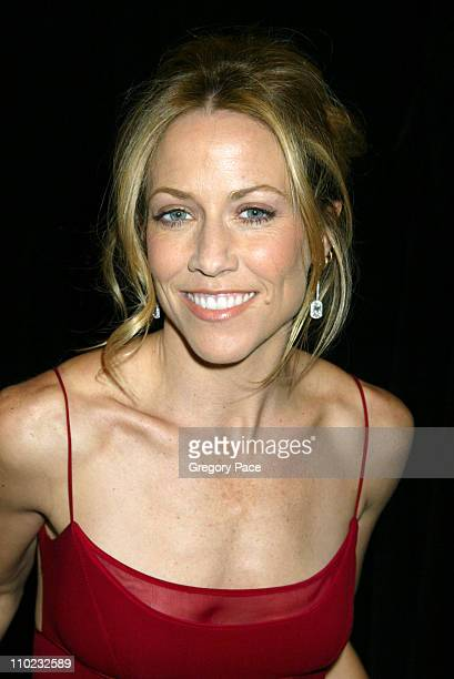 Sheryl Crow during Olympus Fashion Week Fall 2005 Heart Truth Red Dress Collection Backstage Front Row and Runway at Bryant Park Tents in New York...